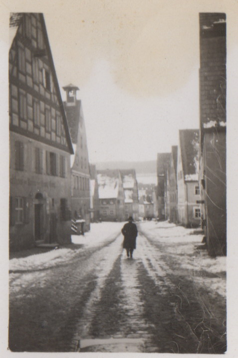 Spalt im Winter 1930 (links die Krone)